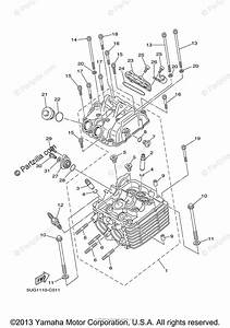 Yamaha Side By Side 2006 Oem Parts Diagram For Cylinder Head