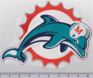 Miami Dolphins Old Logo Patch