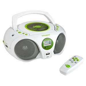Tragbarer Cdmp3player Mit Fernbedienung My Portable Music