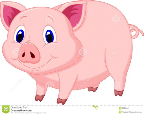 Pictures Of A Cartoon Pig Image Group (71