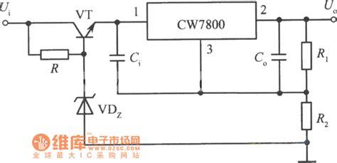 High Input Output Integrated Voltage Regulator