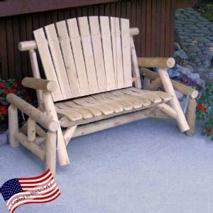 lakeland mills cedar log rocking chair bestseller