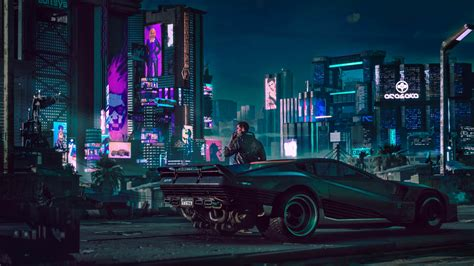 cyberpunk   hd games  wallpapers images
