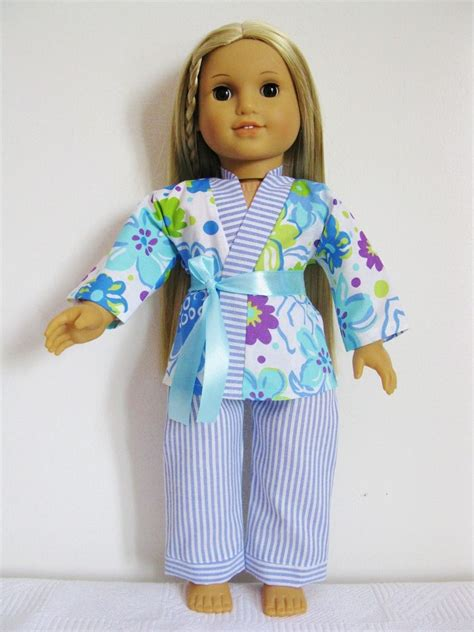 handmade doll clothes pajamas 3 pieces set 18 quot american
