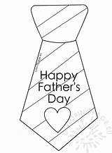 Tie Coloring Father Stripes Fathers Reddit Coloringpage Eu sketch template
