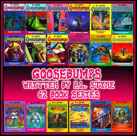 wonderbrary scary book series for 9 12 part 2 the books of r l stine