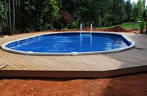 Above ground pools semi inground pool design ideas for Inground swimming pool designs ideas