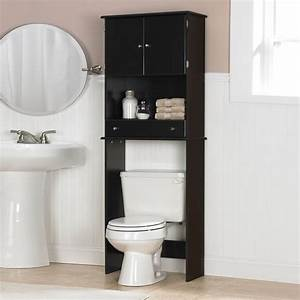 Above toilet cabinet for the bathroom the decoras for 5 bathroom storage over toilet ideas