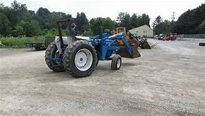 Ford 7600 Tractor With Loader