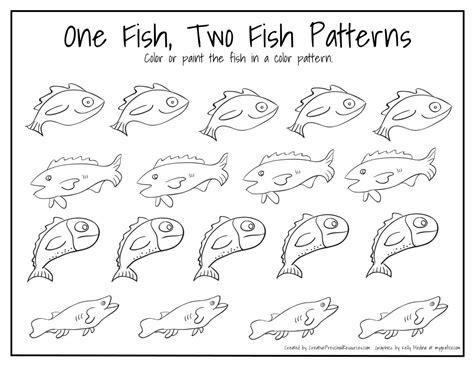 dr seuss birthday march  fish patterns math  school