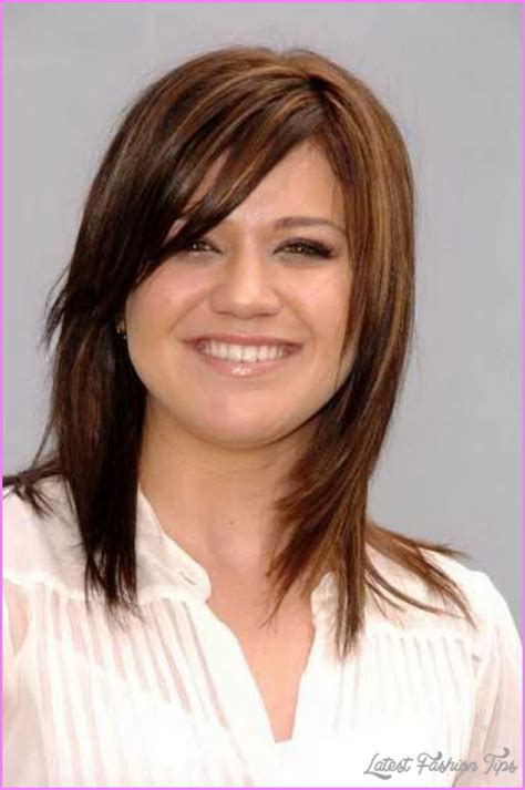 Medium length haircuts no bangs layers   Latest Fashion Tips