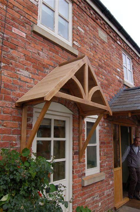 Blakemere Oak Door Canopy  Shropshire Door Canopies