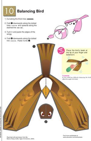 balancing bird learning about gravity worksheet education