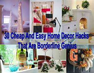 30, cheap, and, easy, home, decor, hacks, that, are, borderline, genius