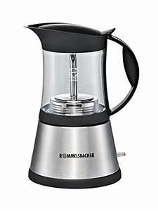 Espressokocher Edelstahl Elektrisch : rommelsbacher espressomaschine kleinster mobiler gasgrill ~ Watch28wear.com Haus und Dekorationen