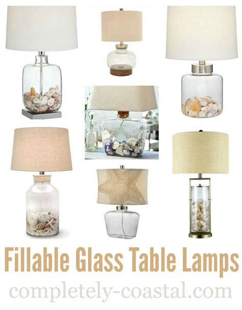 Small Fillable Glass Table L by 1000 Ideas About Shell L On Theme