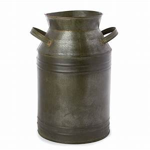 Primitive Tin Milk Can - Decorative Containers - Kitchen