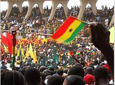 Ghanaians troop to witness the Swearingin of President