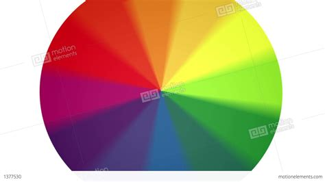 spinning color wheel spinning color wheel contains looping section stock