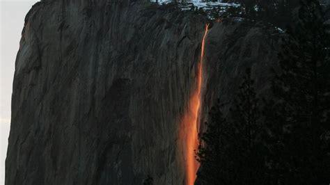 Firefall Yosemite National Park Tail Falls