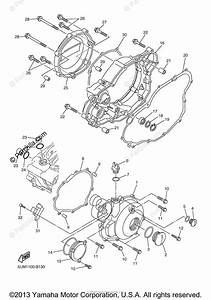 Yamaha Motorcycle 2003 Oem Parts Diagram For Crankcase