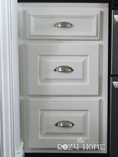 add drawers to kitchen cabinets easy and inexpensive cabinet updates adding trim to 7398
