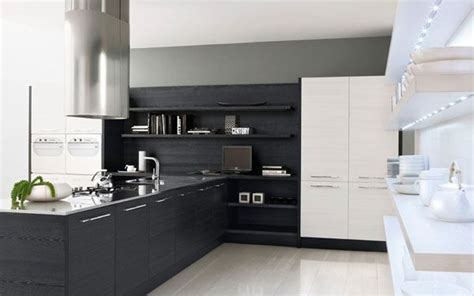 modern black and white kitchen designs decoraci 243 n minimalista 1001 consejos 9754