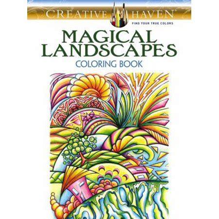 magical landscapes adult coloring book walmartcom