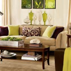 Brown Sofa Decorating Living Room Ideas by 28 Green And Brown Decoration Ideas