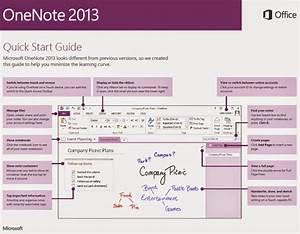 Warren Sparrow  Onenote 2013 Quick Start Guide
