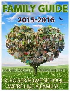 R  Roger Rowe School Family Guide 2015