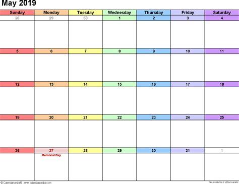 printable editable calendar calendar