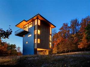 Tower, House, By, Prentiss, Balance, Wickline, Architects