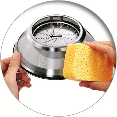 cleaning juicer ease
