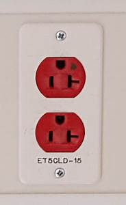 What Are The Red Outlets In Hospitals And Medical