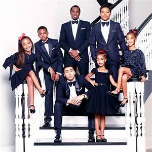 "Sean ""Diddy"" Combs Shares Family Christmas Card With His ..."