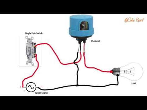 Dusk To Light Wiring Diagram by Wiring A Photocell Switch Diagram Wiring Schematic Diagram