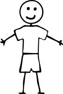 Boy Stick Figure Clip Art