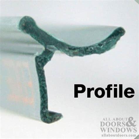 larson door retainer strips larson retainer 1 5 8 inch thick glass doors