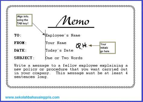 6 contoh memo resmi formal dan tidak resmi informal