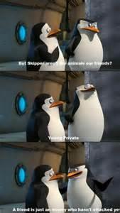 Penguin Madagascar Movie Quotes