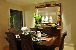 dining room buffet decorating ideas with round decorative With ideas dining room decor home