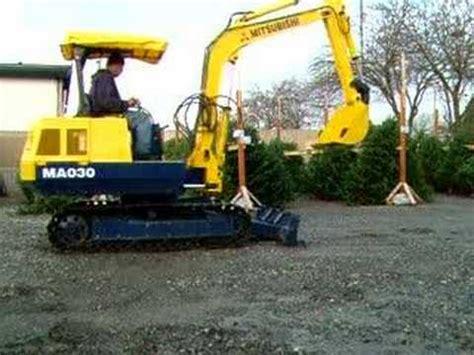 Mitsubishi Excavator by Mitsubishi Mini Excavator