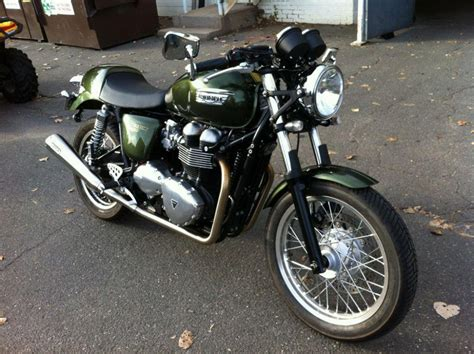 Triumph Thruxton Image by Buy 2013 Triumph Thruxton Brooklands Green Standard On