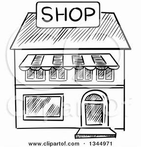 Royalty-Free (RF) Store Front Clipart, Illustrations ...