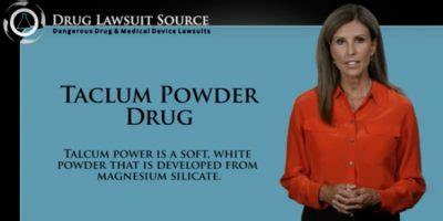 talcum powder tv commercials ovarian cancer lawsuits