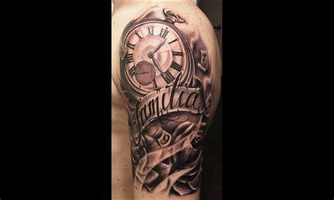 tatouage bras horloge idees de tatouages  piercings