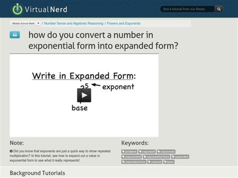 convert  number  exponential form