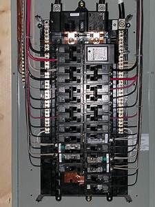 Main Breaker Panel Wiring Diagram