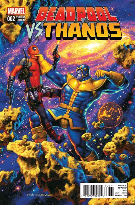 Preview Deadpool Vs Thanos #2  Comic Vine
